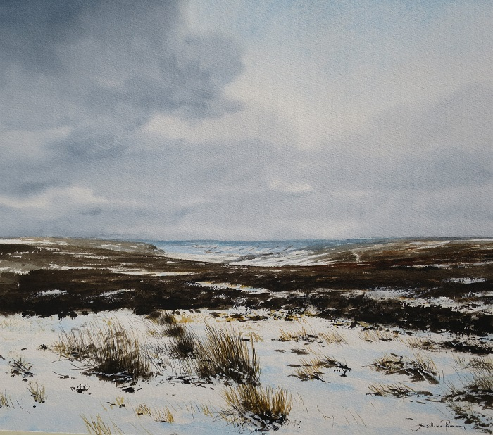 Snow above Rosedale. SOLD
