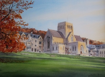 Ampleforth Abbey in October