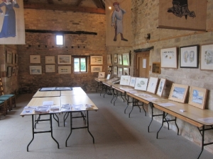 West Barn interior